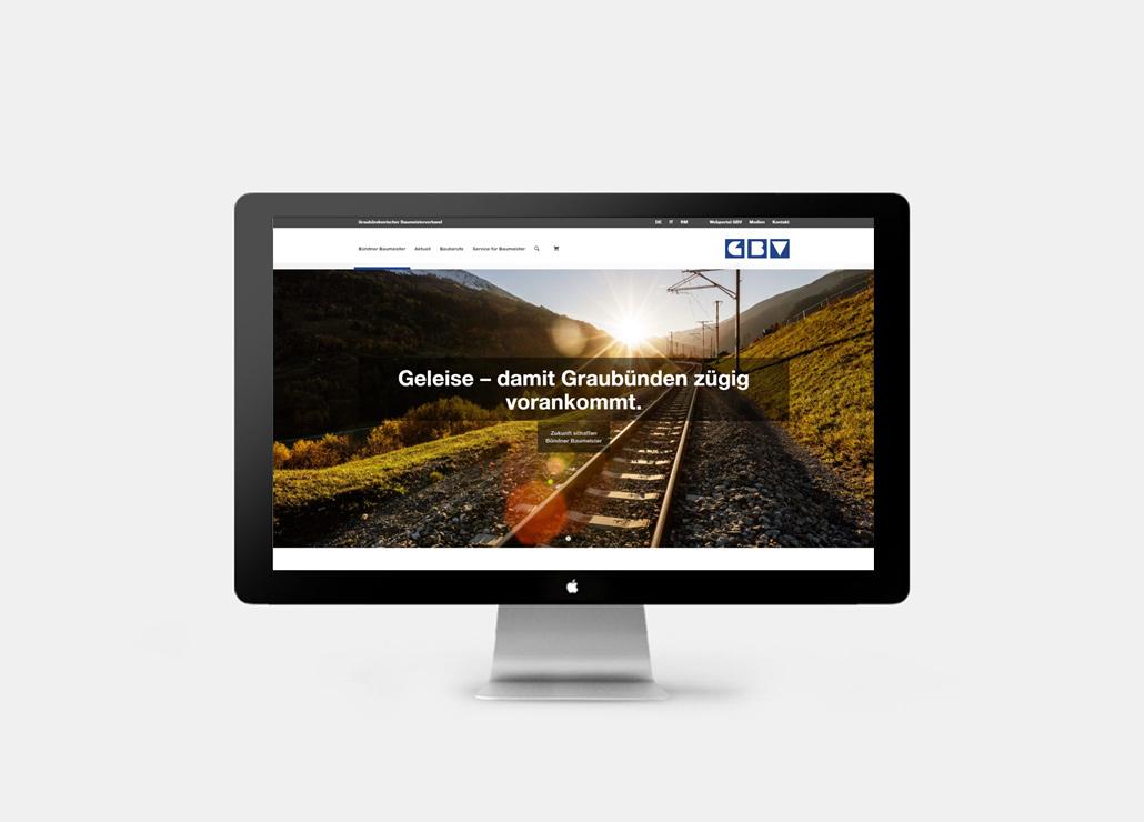 GBV Webseite Startseite