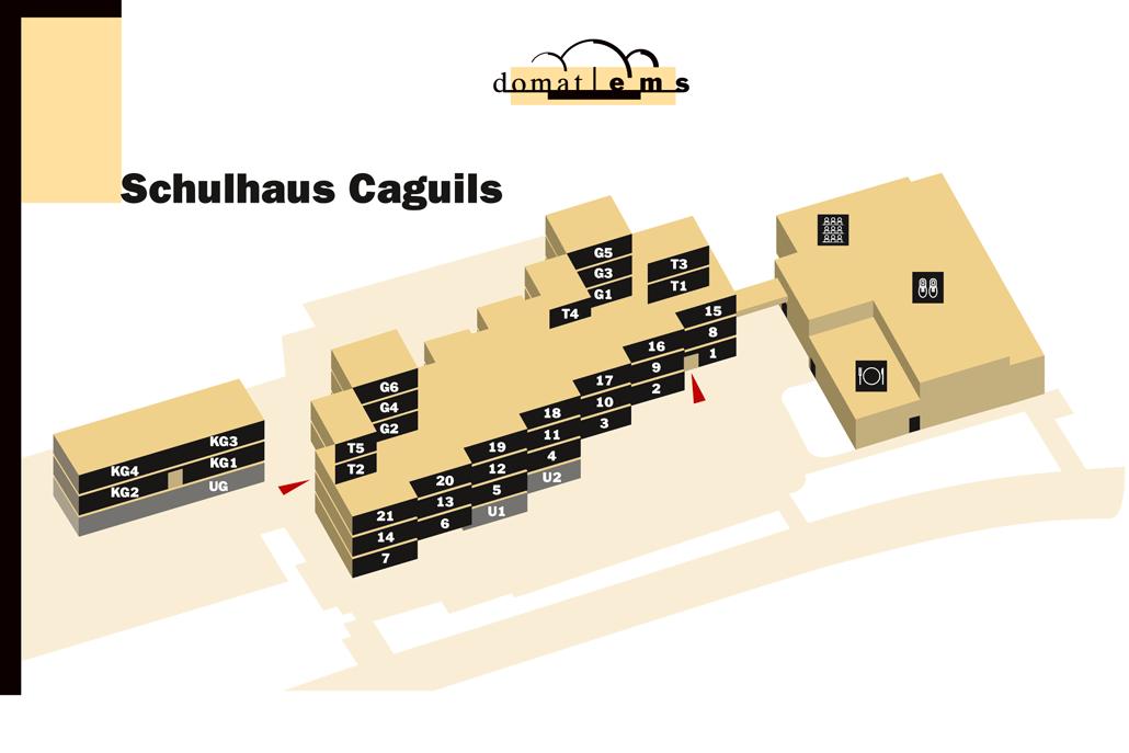 Schulhaus caguils domat ems webcam