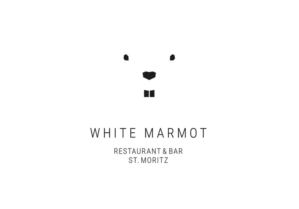 Logo White Marmot