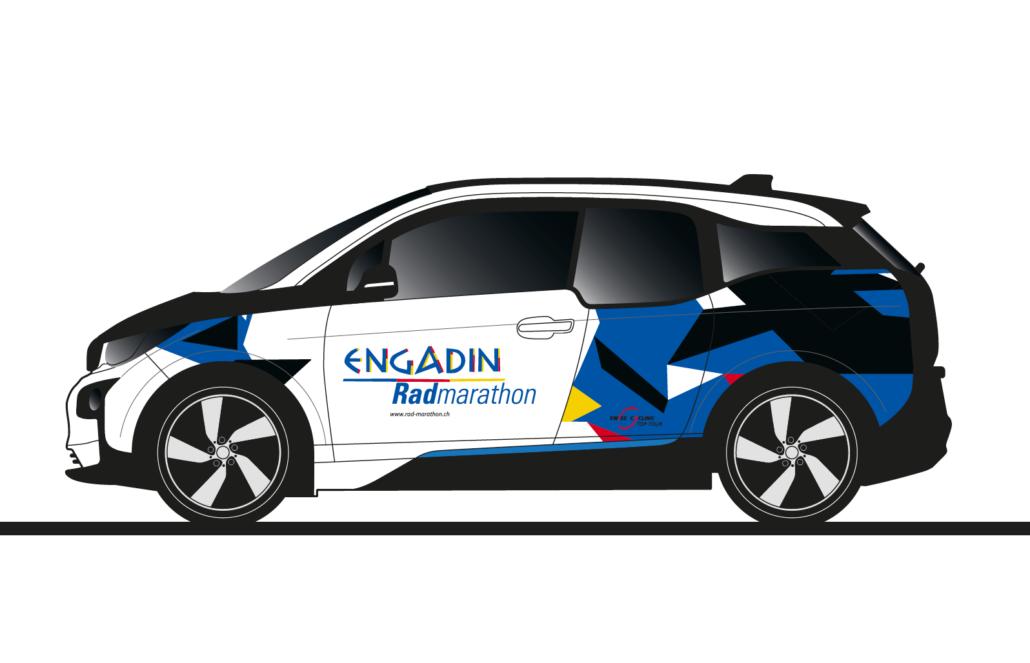 Engadin Radmarathon BMWi3