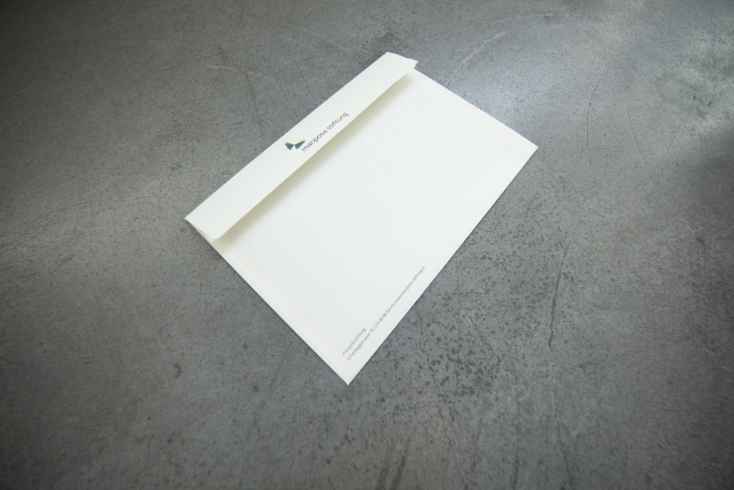 Briefpapier Mariposa Stiftung