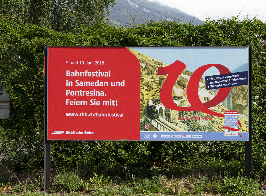 F12 Plakat Bahnfestival