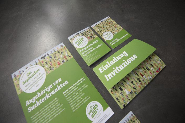 Printprodukte Aktionstage Psychische Gesundheit