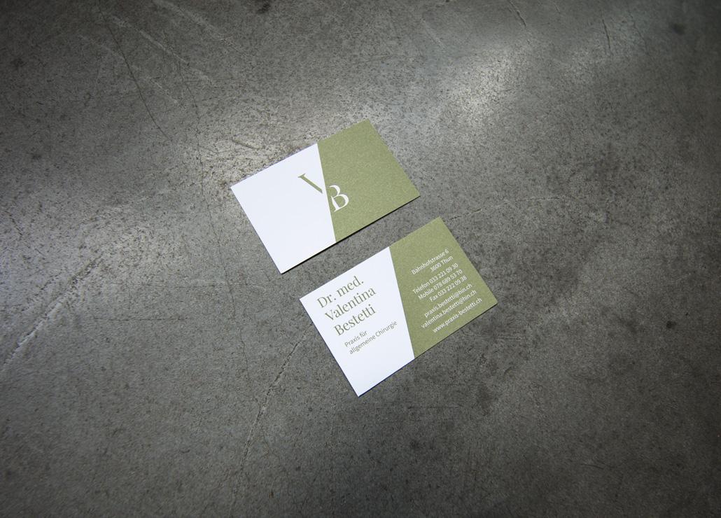 Visitenkarte Dr. med. Valentina Bestetti