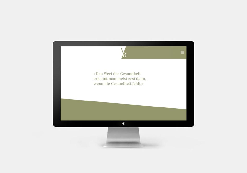 Praxis Bestetti Webseite