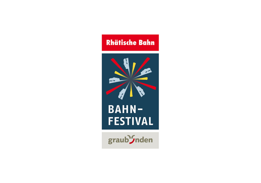 Bahnfestival Rhätische Bahn Logo