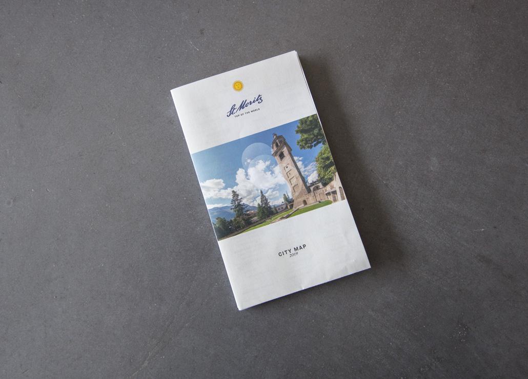 Ortsplan St. Moritz