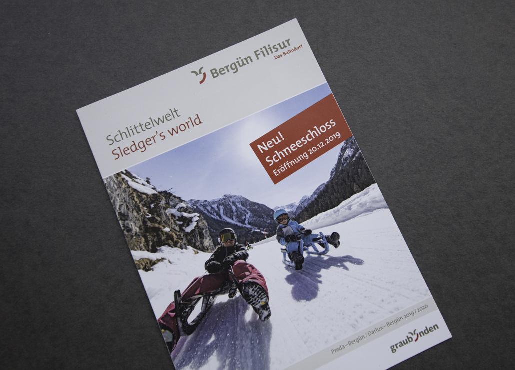 Bergün Filisur Flyer Schlittelwelt - Bild 1