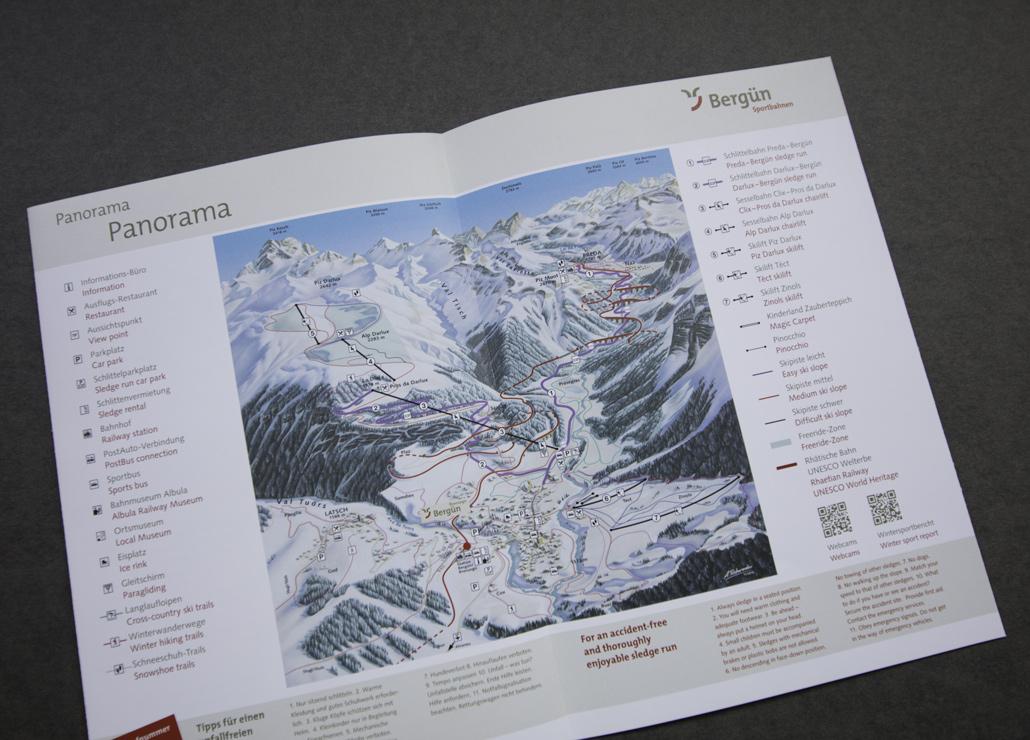 Bergün Filisur Flyer Schlittelwelt - Bild 2