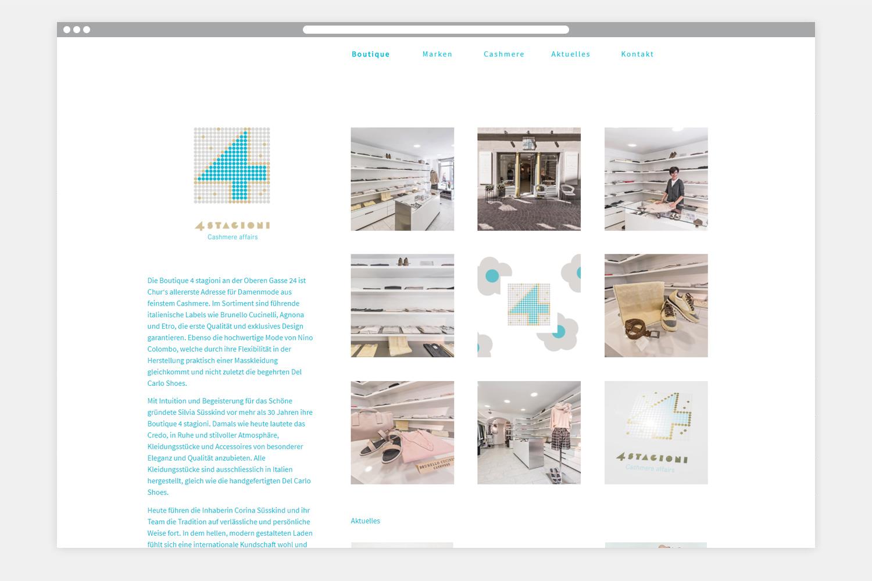 4-stagioni Webseite Startseite