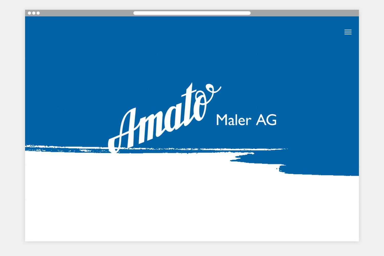 Amato Webseite Startseite
