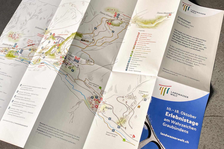 Landwasserwelt Karte