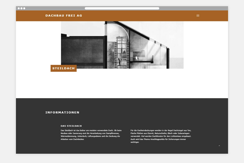 Dachbau Frei Webseite Folgeseite