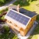 Drohnenaufnahmen Dachbau Frei