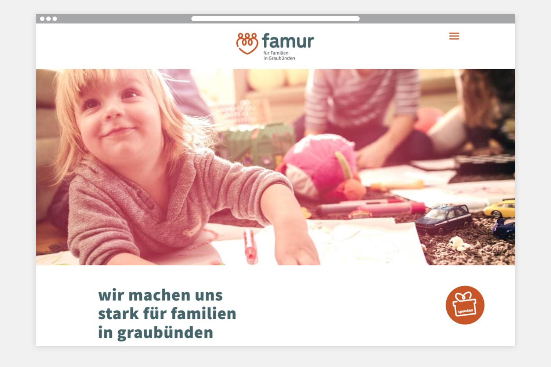 famur Webseite Folgeseite