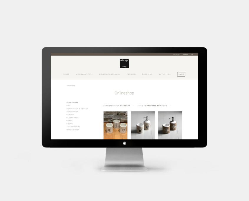 Onlineshop Schoepf Living - Startseite