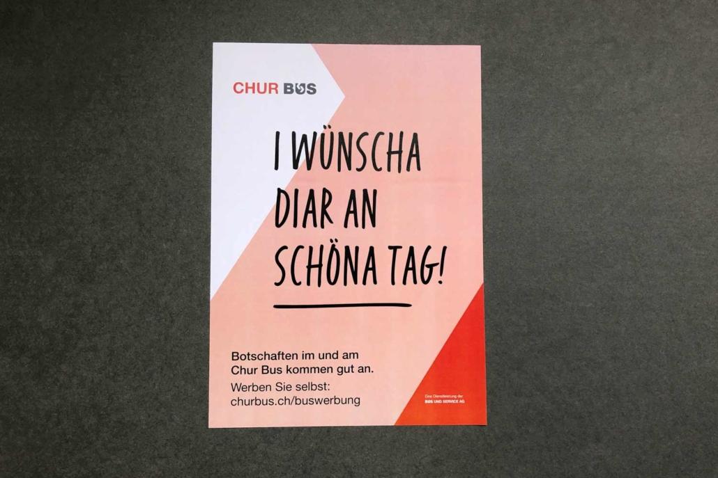 Plakate Bus und Service AG Chur