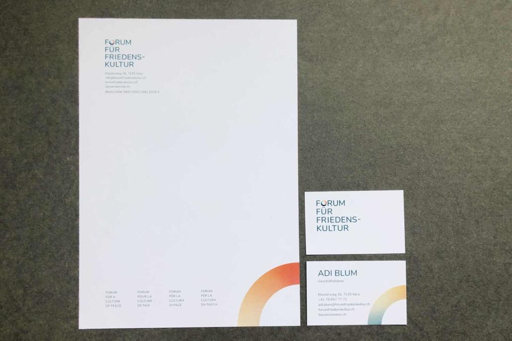 Forum für Friedenskultur - Briefschaften