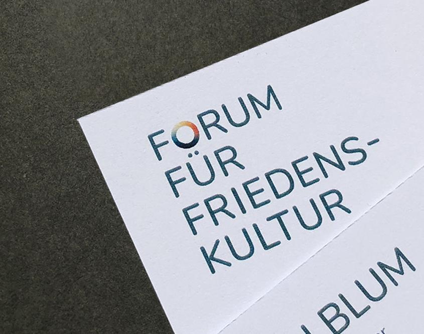 Logo Forum für Friedenskultur