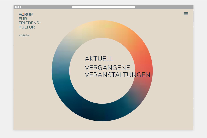 Forum für Friedenskultur - Webseite Aktuell