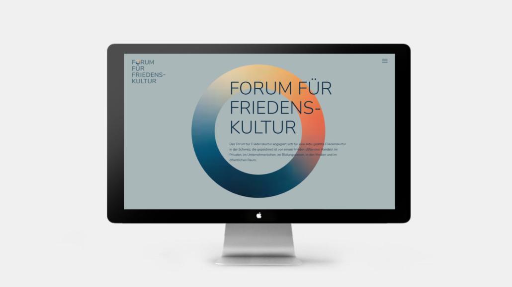 Forum für Friedenskultur - Webseite