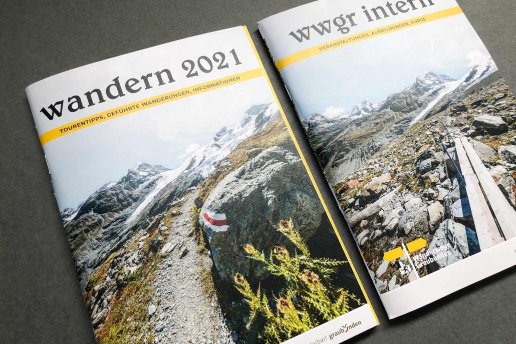 Wanderbroschüre WWGR 2021