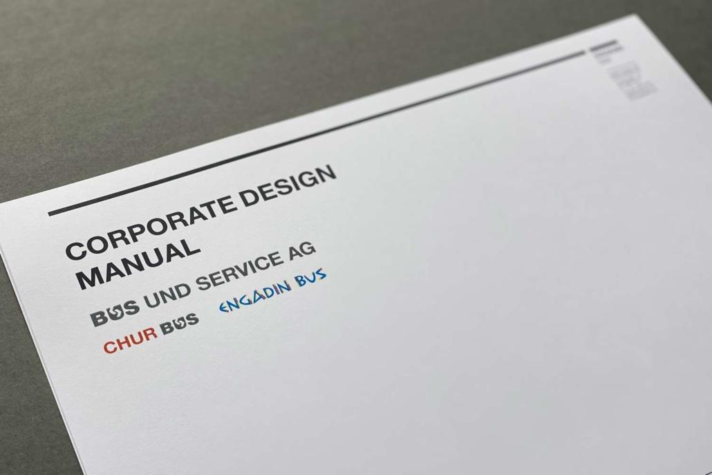 Corporate Design Manual Bus und Service AG