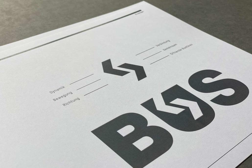 Corporate Design Manual Bus und Service AG | Logo