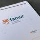 Corporate Design Manual famur | Logo