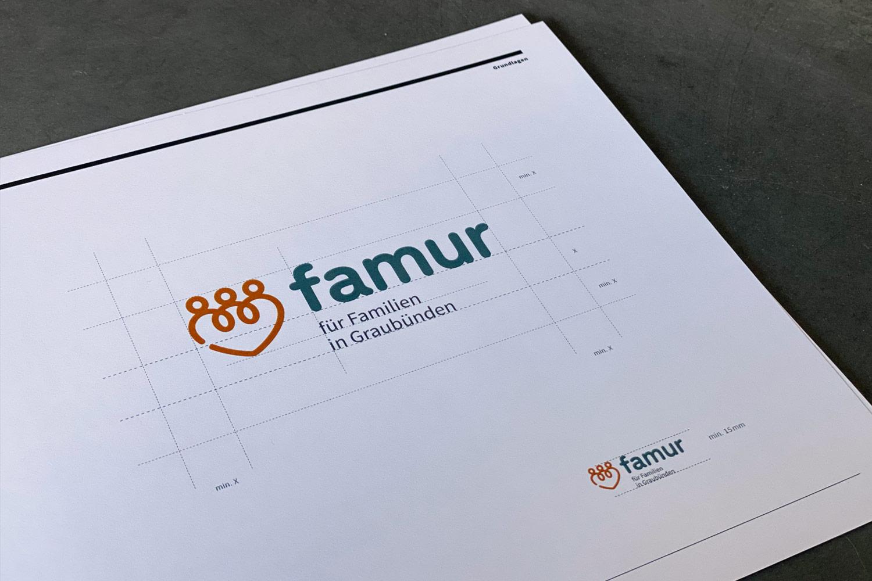 Corporate Design Manual famur   Logo
