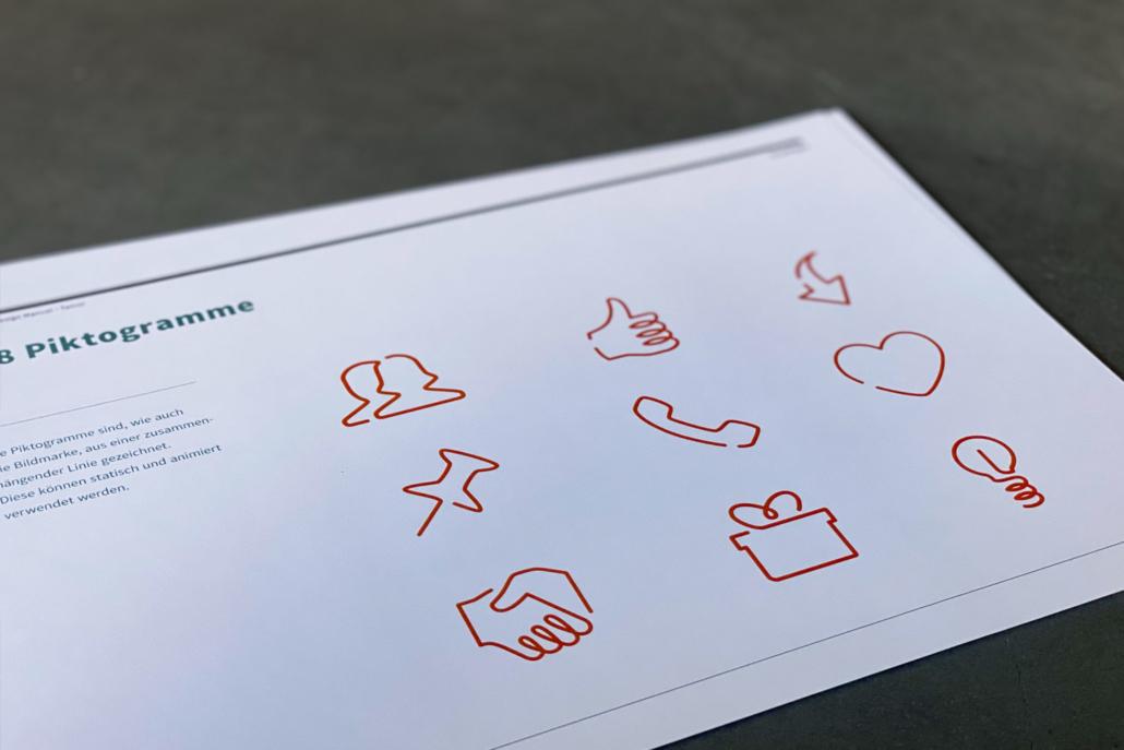 Corporate Design Manual famur | Piktogramme