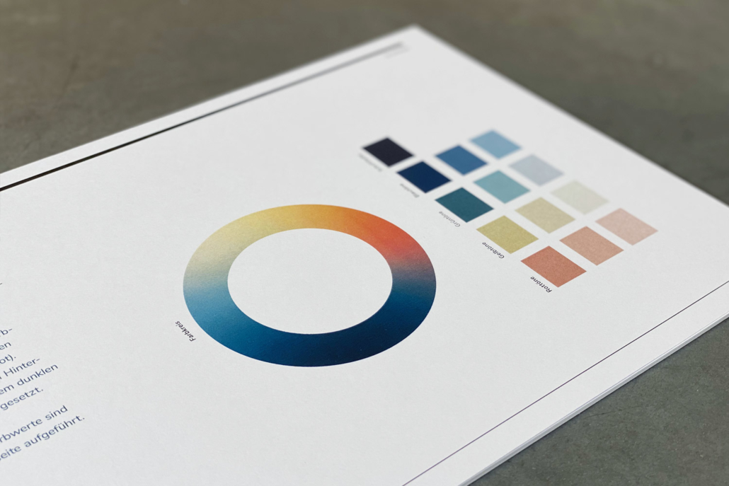 Corporate Design Manual Forum für Friedenskultur | Farben