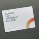 Corporate Design Manual Forum für Friedenskultur